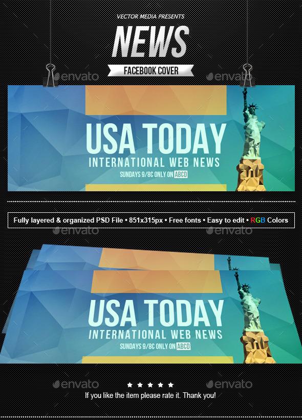 News - Facebook Cover - Facebook Timeline Covers Social Media