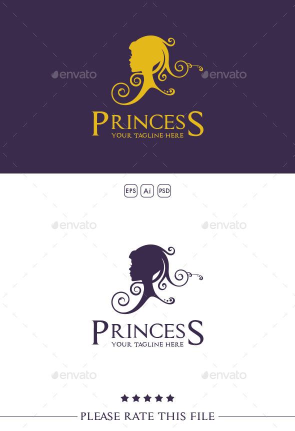 Princess Logo - Humans Logo Templates