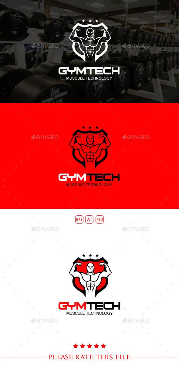 Gym Logo - Humans Logo Templates