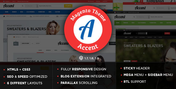 Accent – The Responsive Magento Theme