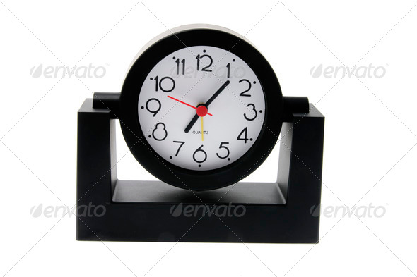 Desk Clock - Stock Photo - Images