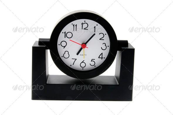 Desk Clock - Stock Photo - Images