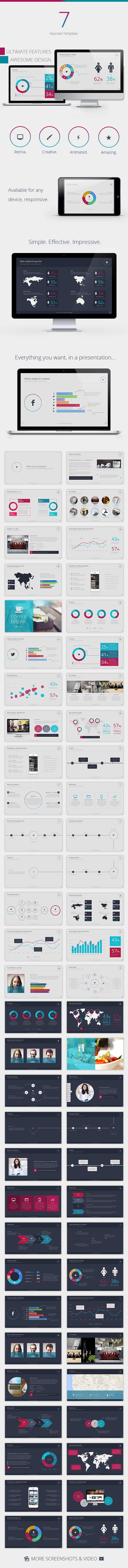 Se7en Keynote Template by VigitalArt | GraphicRiver