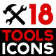 Set of Tool Icons - GraphicRiver Item for Sale