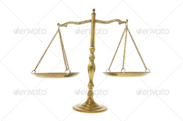 Brass Scale - Stock Photo - Images