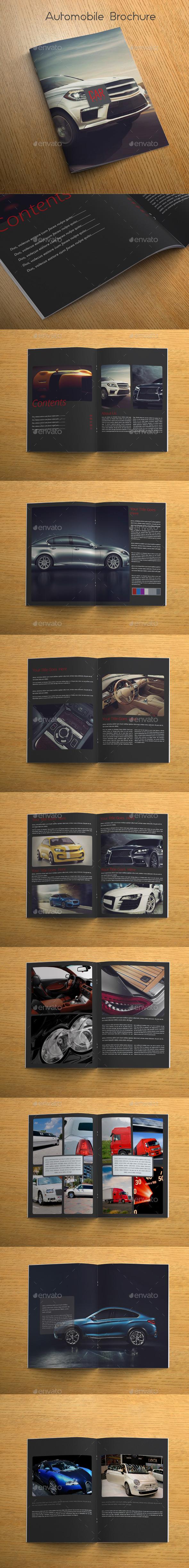Automobile Brochure - Catalogs Brochures
