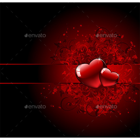 Valentines Day Grunge Heart - Valentines Seasons/Holidays