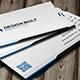 Bolt Modern Business Card
