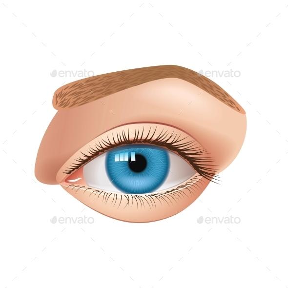 Human Eye - Health/Medicine Conceptual