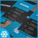 Creative Business Card Template No.6 - GraphicRiver Item for Sale