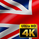 UK United Kingdom Flag Waving - VideoHive Item for Sale