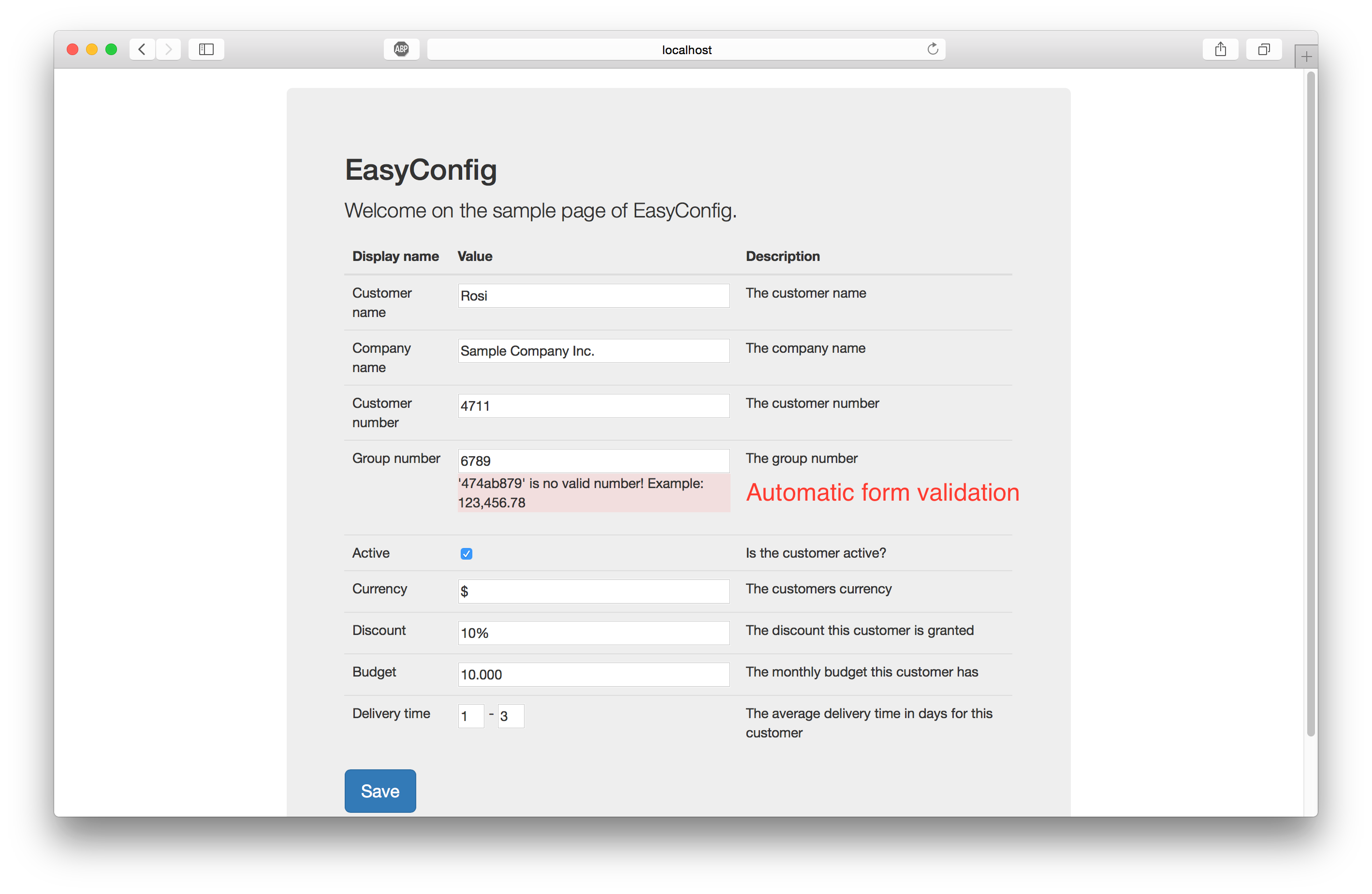 how to create web config file for php
