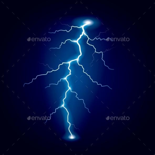 Lightning - Landscapes Nature