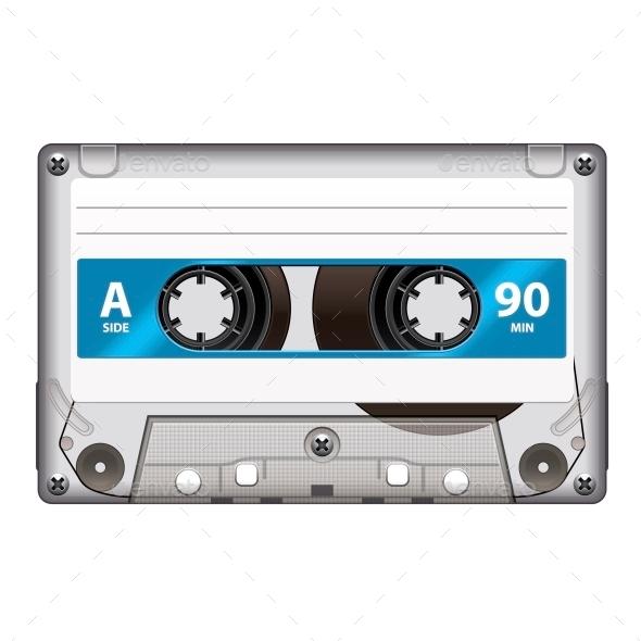 Retro Cassette Tape - Retro Technology