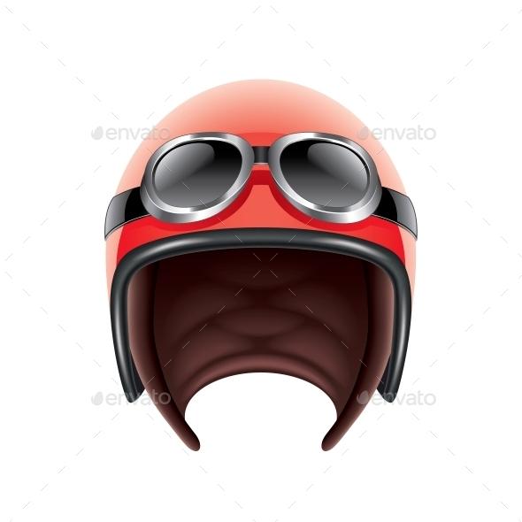 Retro Aviator Helmet - Retro Technology