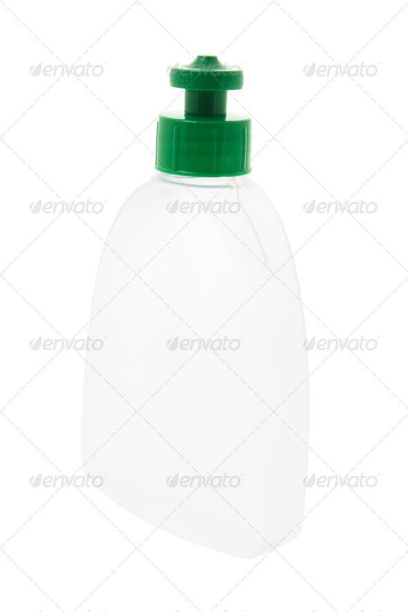 Plastic Liquid Dispenser Bottle - Stock Photo - Images