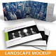 Landscape Brochure Mockup - GraphicRiver Item for Sale