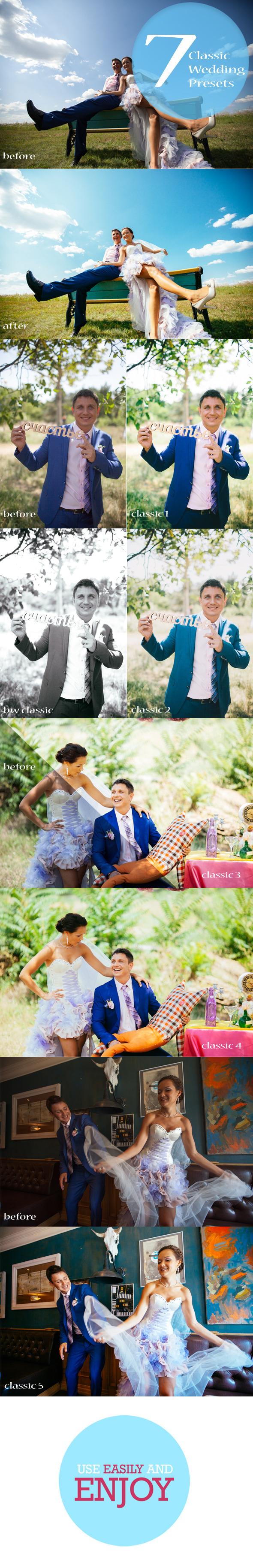 7 Wedding Valentine Presets - Wedding Lightroom Presets