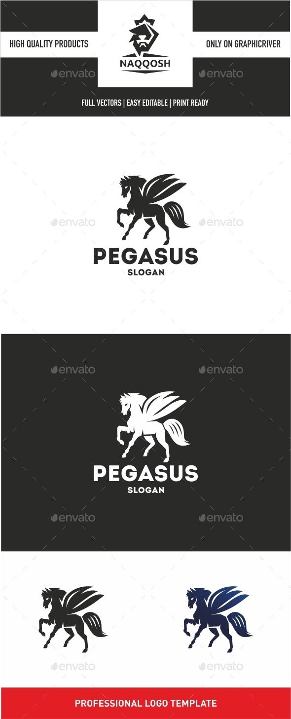 PEGASUS - Crests Logo Templates
