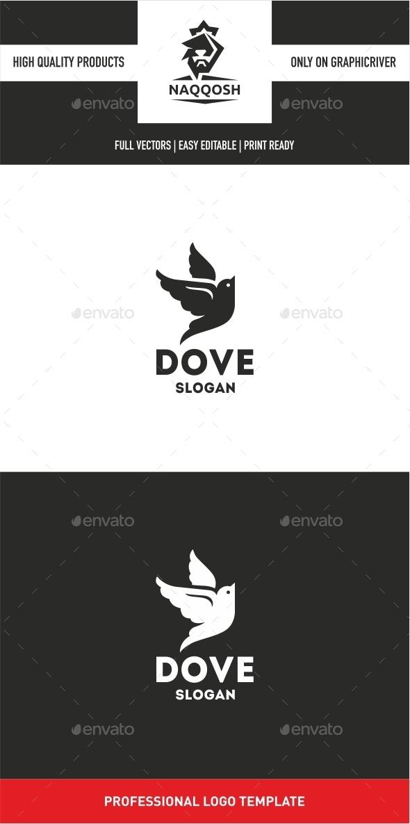 DOVE  - Animals Logo Templates