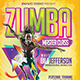 Zumba Master Class Flyer - GraphicRiver Item for Sale