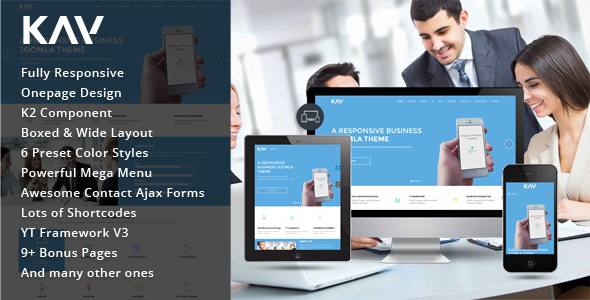 Kay – Responsive Business Joomla Template