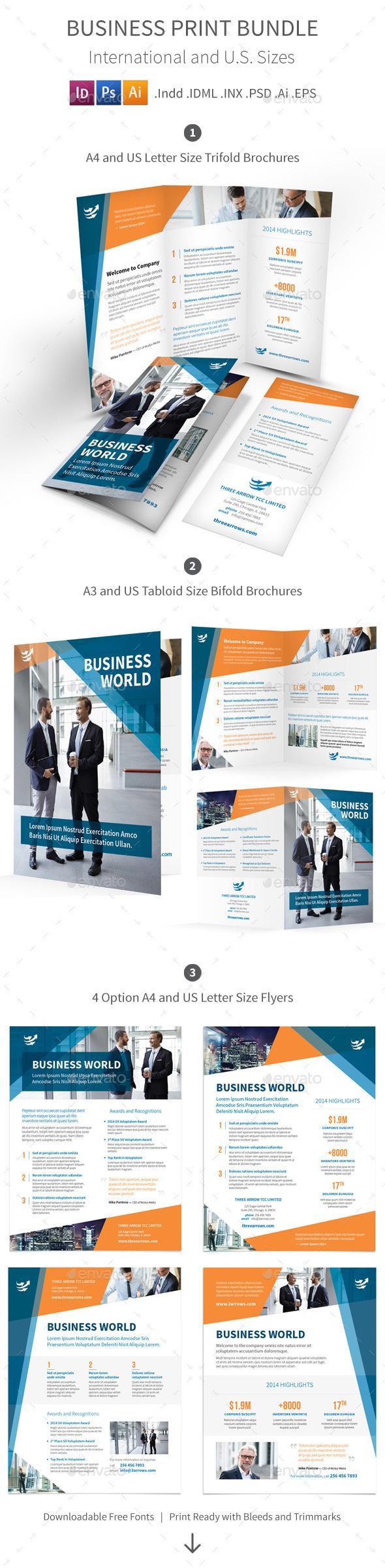 Business Print Bundle - Informational Brochures