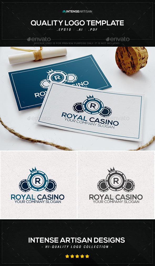 Royal Casino Logo Template - Objects Logo Templates
