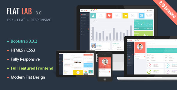FlatLab – Bootstrap 3  Responsive Admin Template