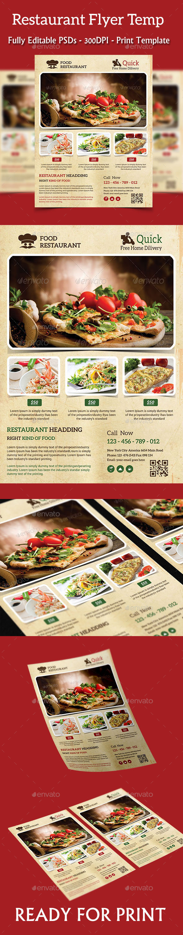 Restaurant Flyer - Events Flyers
