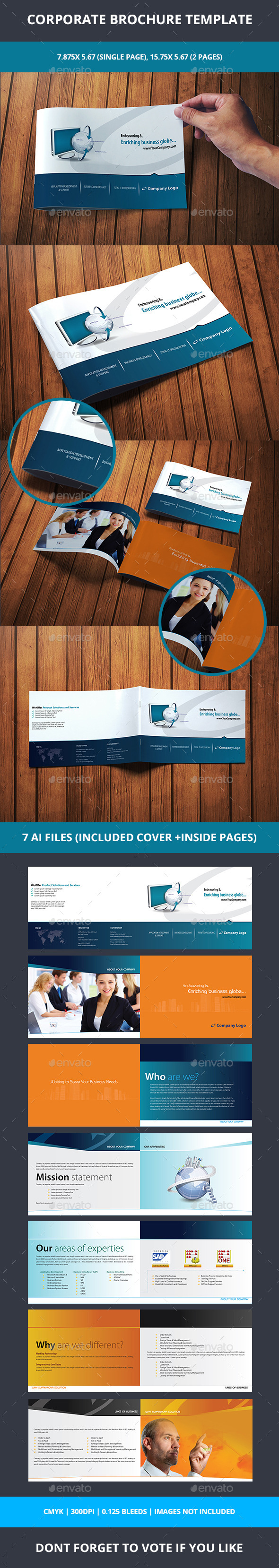Corporate Brochure - Corporate Business Cards