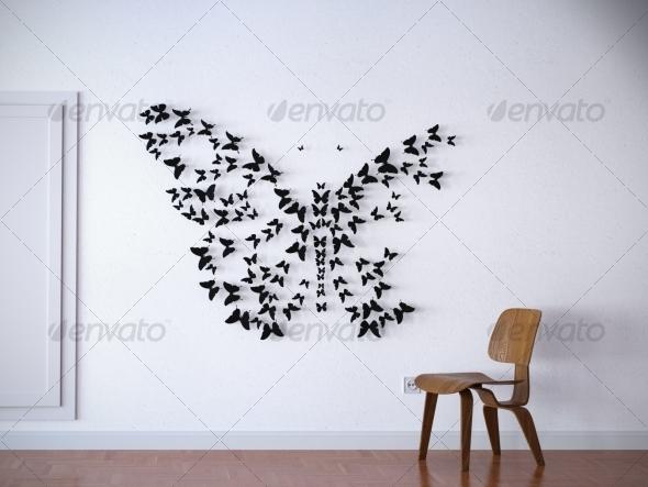 Butterflies - 3DOcean Item for Sale