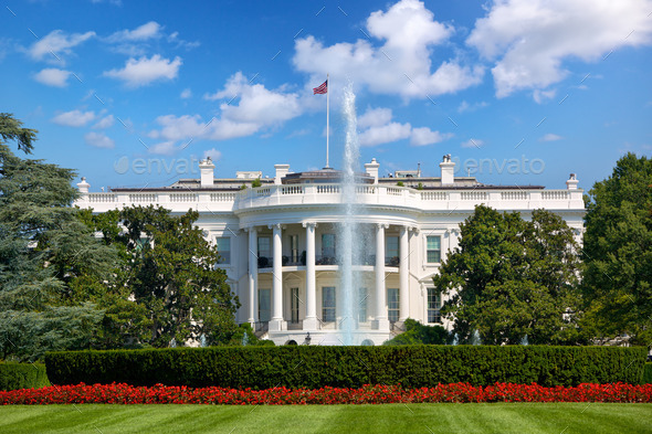 The White House - Stock Photo - Images