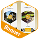 Clean & Creative Multipurpose Banner Template - GraphicRiver Item for Sale