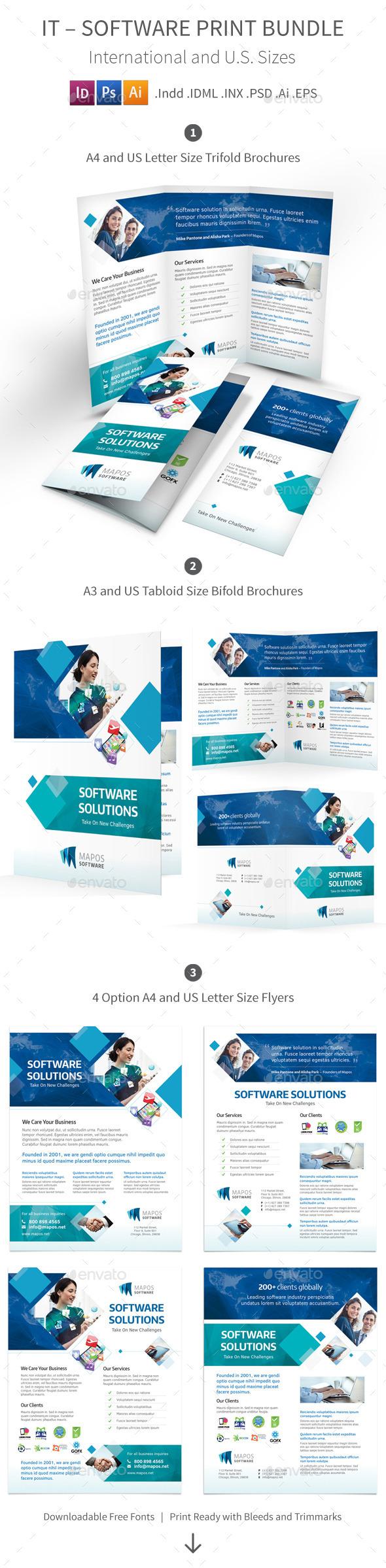 IT – Software Print Bundle - Informational Brochures
