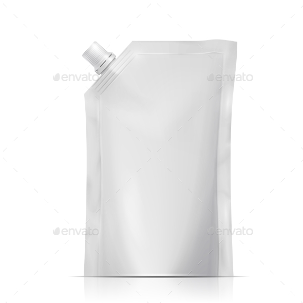 Blank Spouted Pouch - Food Objects