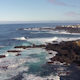 Flying over the Rocks and Ocean Waves - VideoHive Item for Sale