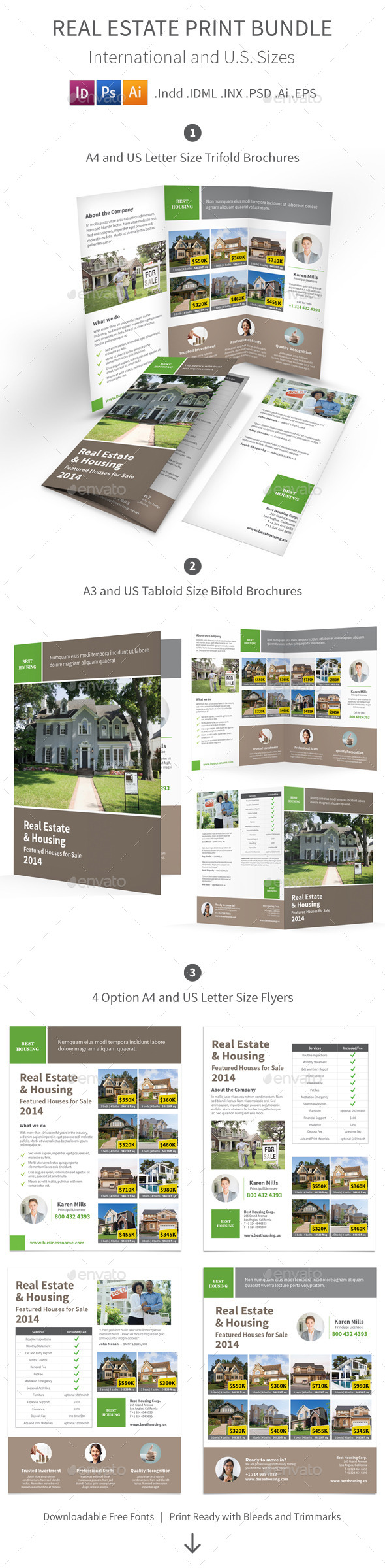 Real Estate Print Bundle - Informational Brochures