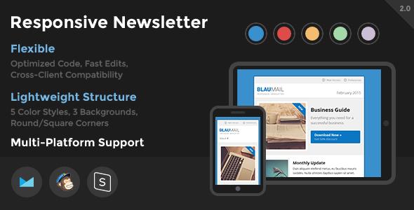 BlauMail – Responsive Newsletter