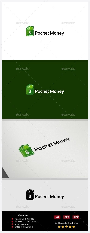 Pocket Money Logo - Symbols Logo Templates