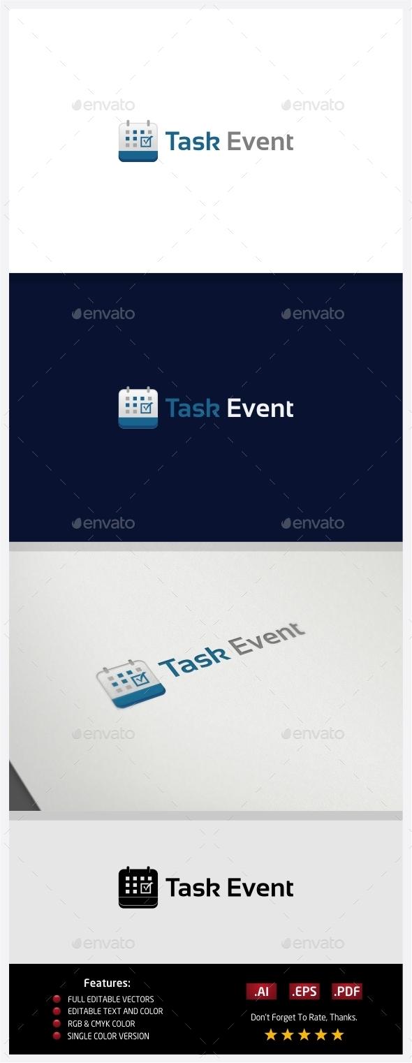 Task Event Logo - Logo Templates