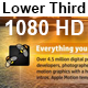 Light Particle Lower Third - VideoHive Item for Sale