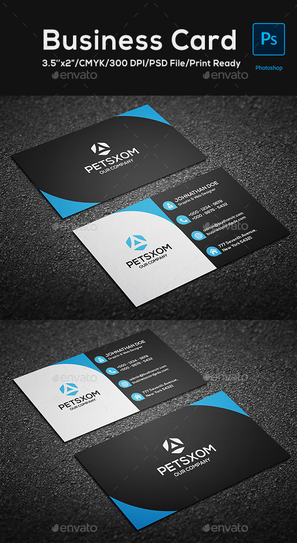 Modern Business Card Vol. 2 - Corporate Business Cards