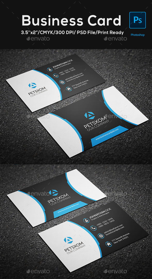 Modern Business Card Vol. 3 - Corporate Business Cards