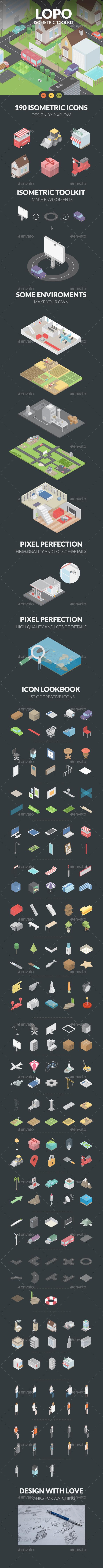 City Builder Kit - Miscellaneous Vectors