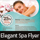 Elegant Spa/Wellness Flyer - GraphicRiver Item for Sale