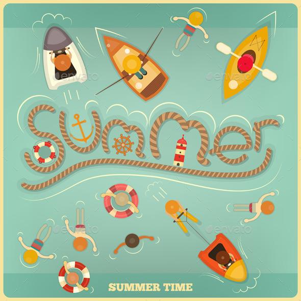 Summer - Travel Conceptual