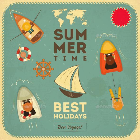 Summer Holidays - Sports/Activity Conceptual