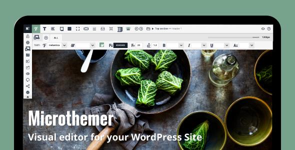 Microthemer – WordPress Visual Design CSS Plugin