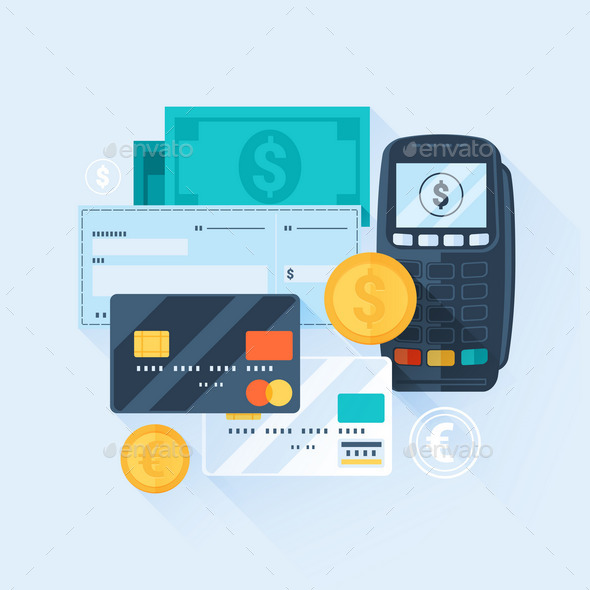 Payment Methods Concept - Commercial / Shopping Conceptual